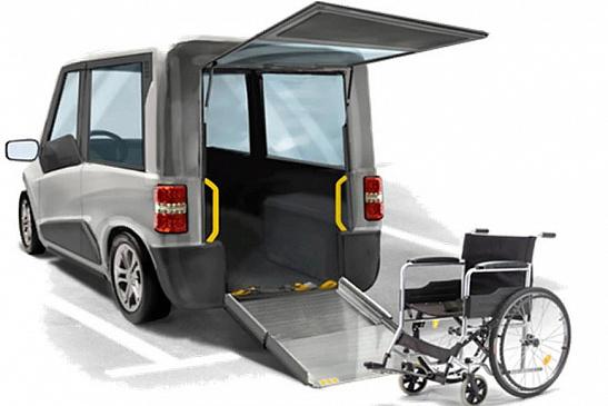 Italdesign представил современное ТС для инвалидов